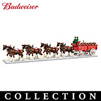 Budweiser Clydesdales Sculpture Collection