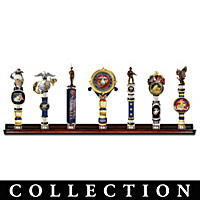 USMC Tribute To Valor Tap Handle Collection