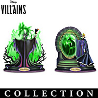 Disney Villains Sculpture Collection