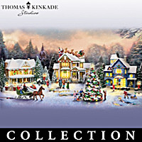 Thomas Kinkade Sounds Of The Season Village Collection