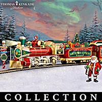 Thomas Kinkade North Pole Express Train Collection