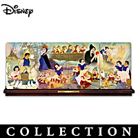 Snow White And The Seven Dwarfs Collector Plate Collection