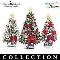 Thomas Kinkade Tabletop Christmas Tree Collection
