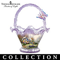 Thomas Kinkade Reflections Of Serenity Bowl Collection