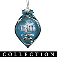 Philadelphia Eagles Super Bowl LII Ornament Collection