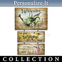 Marjolein Bastin Seasonal Serenade Welcome Sign Collection