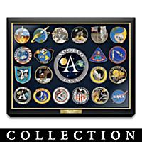 Apollo Missions Commemorative Pin Collection