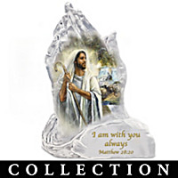 In God\'s Hands Sculpture Collection
