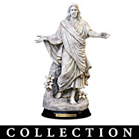 Our Savior Cold-Cast Marble Sculpture Collection