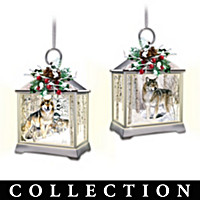 Lights Of The Woodland Legend Ornament Collection