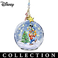 Disney Delivering Holiday Magic Ornament Collection