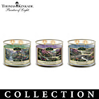 Thomas Kinkade Essential Oils Aromatherapy Candle Collection