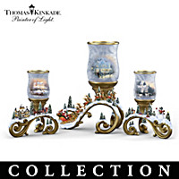 Bright Holiday Memories Candleholder Collection