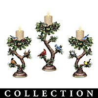 Twilight Treasures Songbird Candle Collection