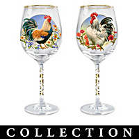 Country Charm Wine Glass Collection