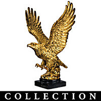 18K Gold Eagle Sculpture Collection