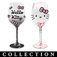 Hello Kitty Wine Glass Collection