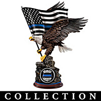 The Thin Blue Line Sculpture Collection