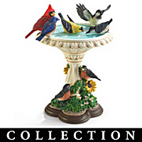 The Garden\'s Birds Sculpture Collection