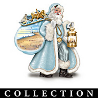 Santa By The Sea Figurine Collection