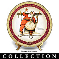 Norman Rockwell's Christmas Collector Plate Collection