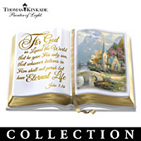 Thomas Kinkade The Word Of God Sculpture Collection