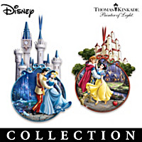 Disney Once Upon A Fairy Tale Ornament Collection