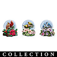 Songbird Serenity Glitter Globe Collection