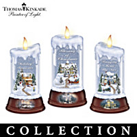 Thomas Kinkade Moments Of Joy Candle Collection