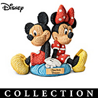 Disney Knit Together Sculpture Collection