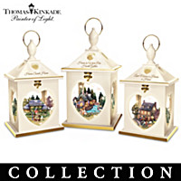 Lamplight Village Table Centerpiece Collection