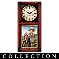 John Wayne: Hero For All Seasons Wall Clock Collection