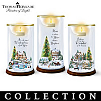 Thomas Kinkade Holiday Village Candle Collection