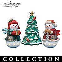 Thomas Kinkade Sparkled Delights Figurine Collection