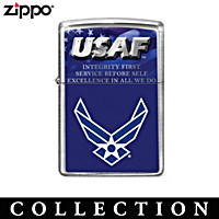 U.S. Air Force Zippo Lighter Collection