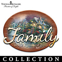 Thomas Kinkade Inspired Home Wall Decor Collection