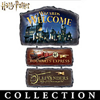 HARRY POTTER Welcome Sign Collection