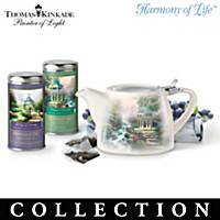 Thomas Kinkade Nature\'s Finest Teas Tea Set Subscription