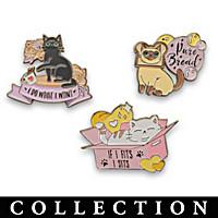 Catitudes Pin Collection