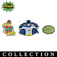 BATMAN Classic TV Series Pin Collection