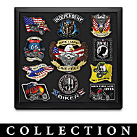 Ride Hard Live Free Patch Collection