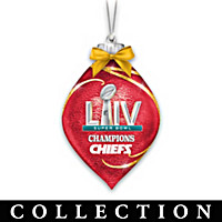 Kansas City Chiefs Super Bowl LIV Ornament Collection