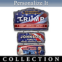 President Trump Personalized Welcome Sign Collection