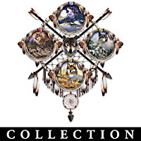 Seasons Of The Wolf Collector Plate Collection