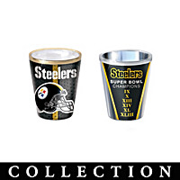 Pittsburgh Steelers Shot Glass Collection