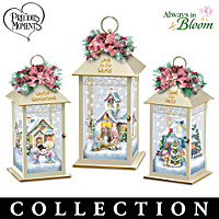 Precious Moments \'Tis the Season Lantern Collection