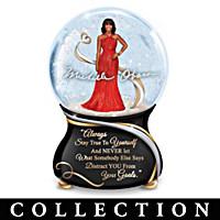 Michelle Obama True Inspirations Glitter Globe Collection