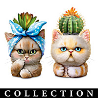 Purr-Fect Planters Sculpture Collection