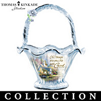 Thomas Kinkade Reflections Of Hope Bowl Collection