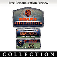 Chicago Bears Personalized Welcome Sign Collection